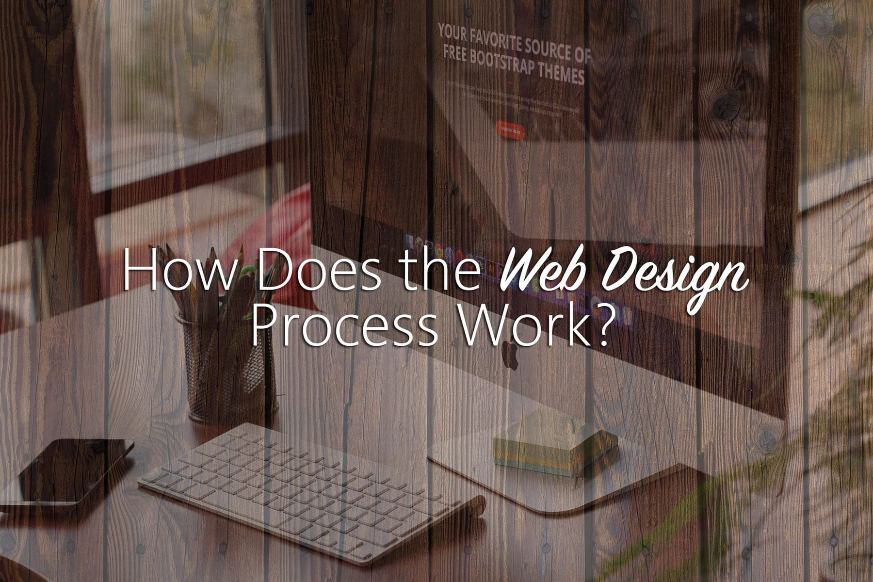how does the web design process work